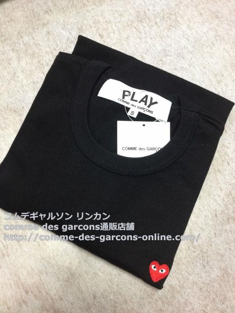 IMG 3247 - Play リトル heart Tシャツのメンズ・ブラックSサイズのご注文♪