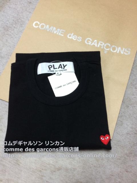 IMG 3249 - Play リトル heart Tシャツのメンズ・ブラックSサイズのご注文♪