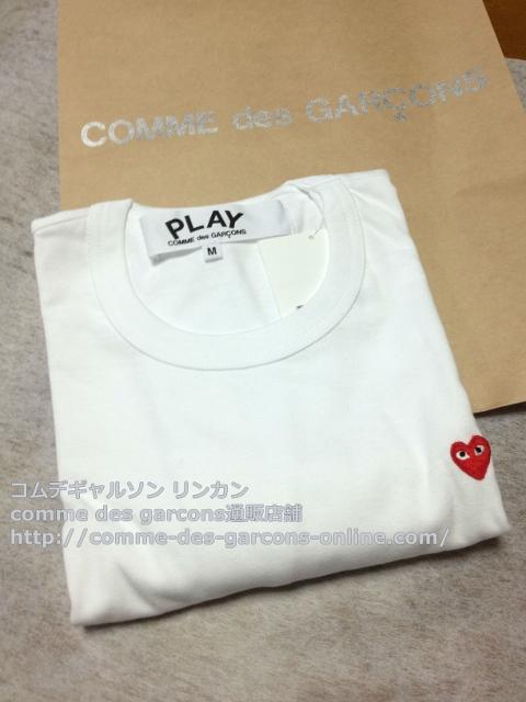 IMG 3253 - Play リトル heart Tシャツのメンズ・ブラックSサイズのご注文♪