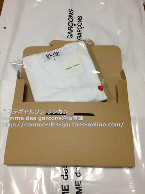 IMG 3264 - Play リトル heart Tシャツのメンズ・ホワイトMサイズのご注文♪