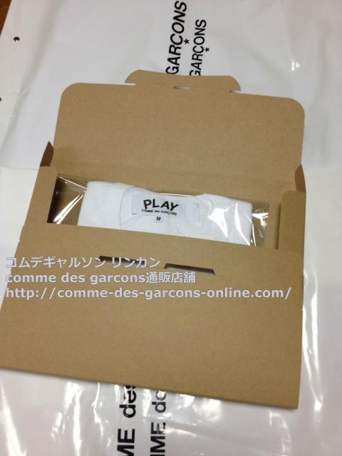 IMG 3265 - Play リトル heart Tシャツのメンズ・ホワイトMサイズのご注文♪