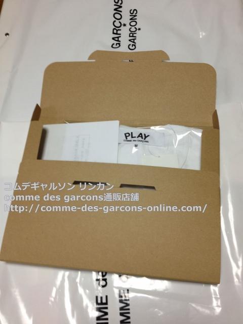 IMG 3267 - Play リトル heart Tシャツのメンズ・ホワイトMサイズのご注文♪