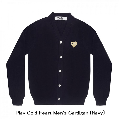 Play-Gold-Heart-Cardigan-Navy
