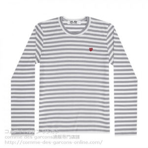 Play-L-R-Heart-Striped-T-Grey