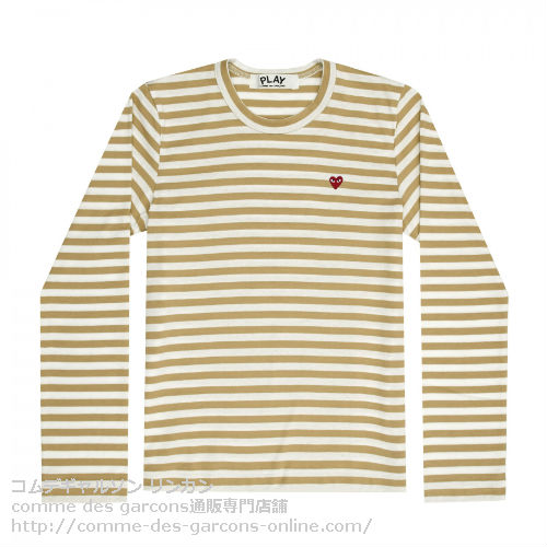 Play-L-R-Heart-Striped-T-Olive