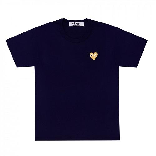 Play-One-G-Heart-TShirt-Navy