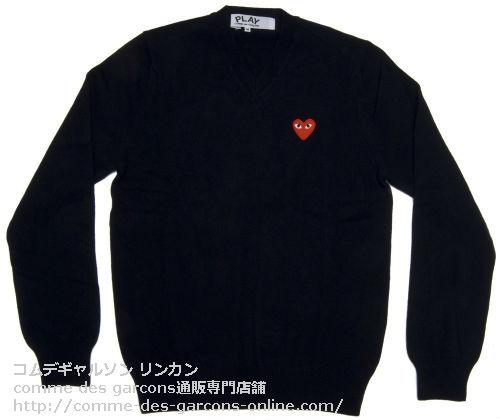 Play-V-Neck-Sweater-Bk