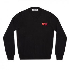 Play-W-Heart-Sweater-Bk