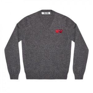 Play-W-Heart-Sweater-Grey