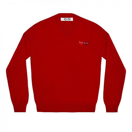 Play-W-Heart-Sweater-Red