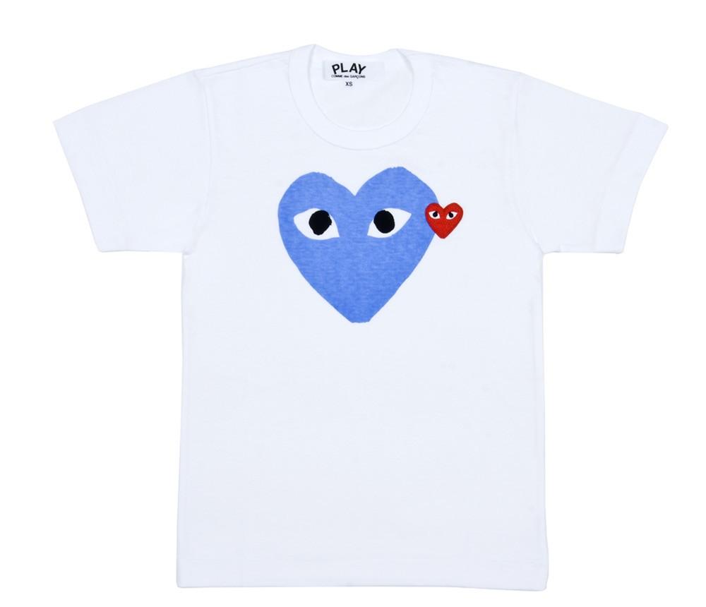 Play-heart-TShirt-Blue
