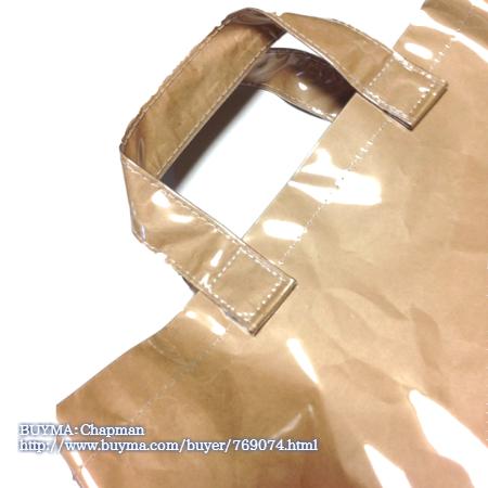pvc shopbag1 006 - PVCビニールトートバッグのギフト包装が丁寧すぎて感激♪