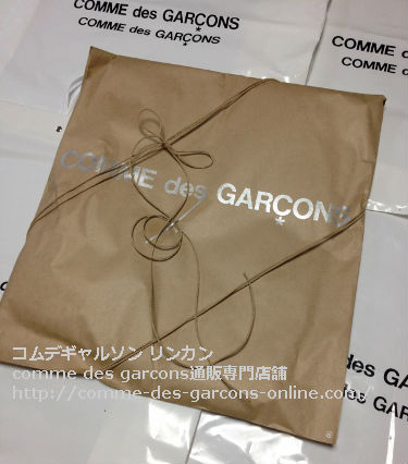 1 COMME des GARCONSビニールトートバッグの発送風景 - コムデギャルソン pvcビニールトートのご注文♪発送の風景