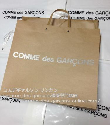 4 COMME des GARCONSビニールトートバッグ取り扱い店 - コムデギャルソン pvcビニールトートのご注文♪発送の風景