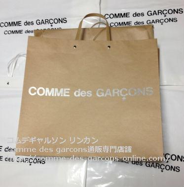 5 コムデギャルソンPVCトートバッグの取り扱い店 - コムデギャルソン pvcビニールトートのご注文♪発送の風景
