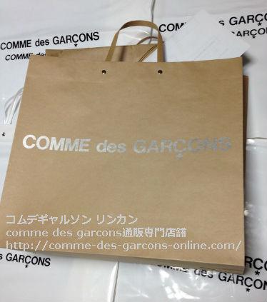 6 コムデギャルソンPVCショッピングトートバッグを即お届けします - コムデギャルソン pvcビニールトートのご注文♪発送の風景