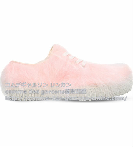 CDG-spcourt-shoes-Pink