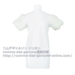 cdg-girl-arm-fur-tshirt
