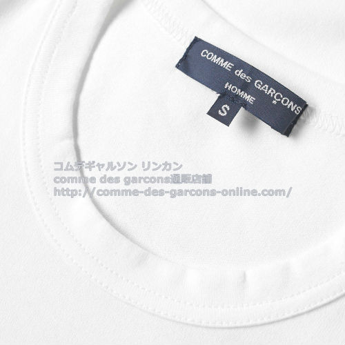cdg-homme-fabric-tshirt-wh