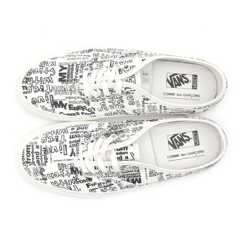 cdg-vans-message