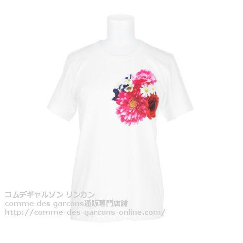 floral-print-TShirt