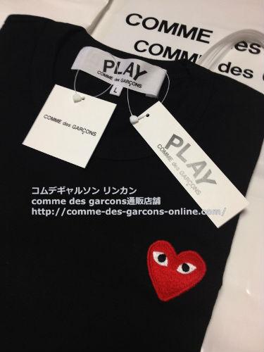 play red heart tshirt bk order5m - コムデギャルソン tシャツ 赤いハートPlayのご注文を頂きました♪