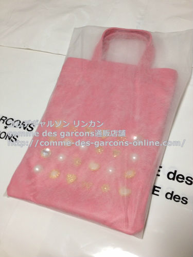COMME DES GARCONS GIRL jewelry leather totebag pink 7 - コムデギャルソンガール・ジュエリートートバッグのご注文♪