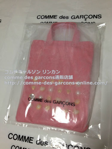 COMME DES GARCONS GIRL jewelry leather totebag pink 9 - コムデギャルソンガール・ジュエリートートバッグのご注文♪