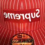 cdg-supreme-hat-red