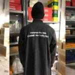 cdg-logo-staff-coat-leather