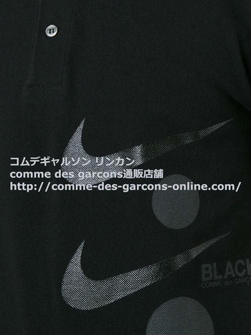cdg-black-nike-polo-bk