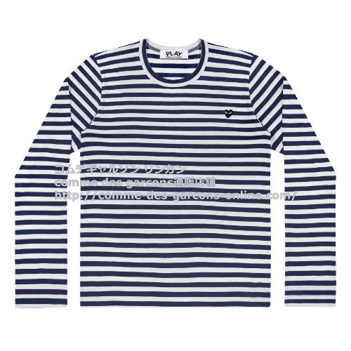 Play-ltee-heart-s-bk-striped-na-wh