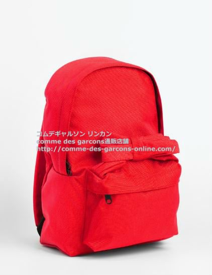 cdg-girl-backpack-red