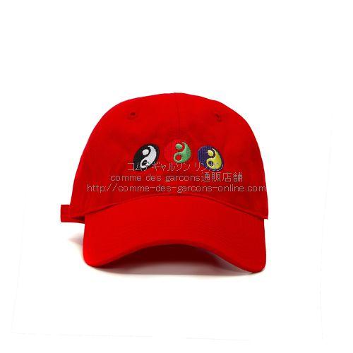 gosha-ying-yang-cap-red