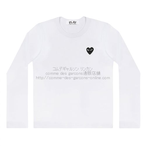 Play-long-Tee-bk-Heart-wh