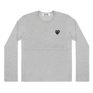 Play-long-Tee-bk-Heart-gry