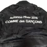 black-cdg-logo-staff-coat