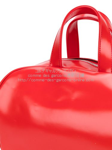 cdg-girl-bowling-tote-red