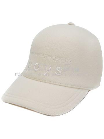 cdgshirt-cap-wh