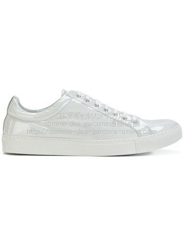cdgshirt-pvc-sneakers-wh
