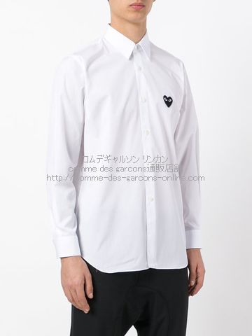 Play-Black-Heart-Shirt-Men-Wh