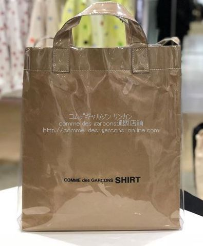 cdgshirt-pvc-2way-bag