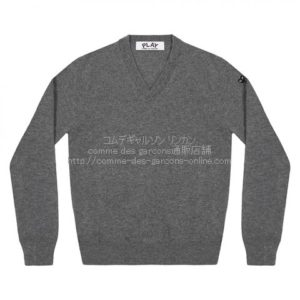 play-little-bk-heart-cotton-v-sweater-gray