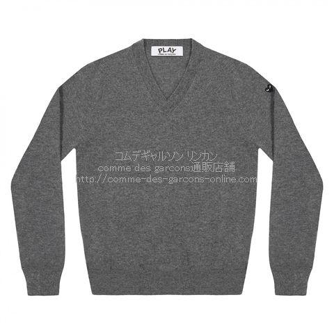 play-little-bk-heart-cotton-v-sweater-gray