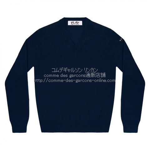 play-little-bk-heart-cotton-v-sweater-navy