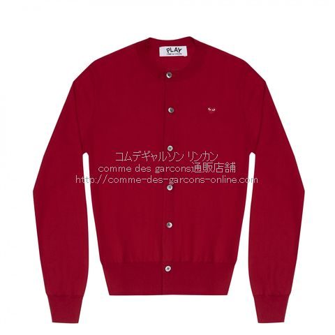 play-little-red-heart-cotton-cardigan-red
