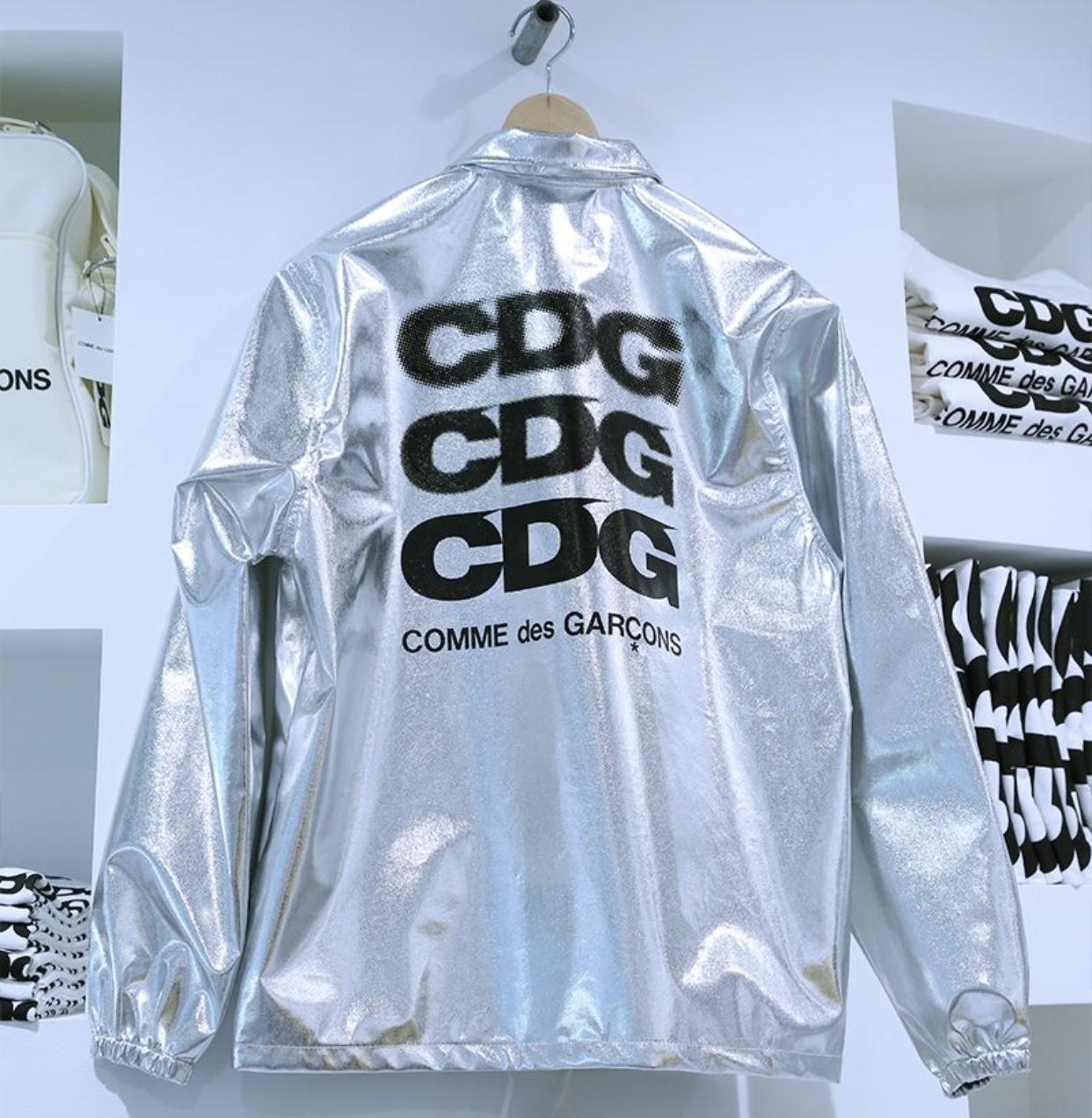 cdg-coach-jk-sp-silver