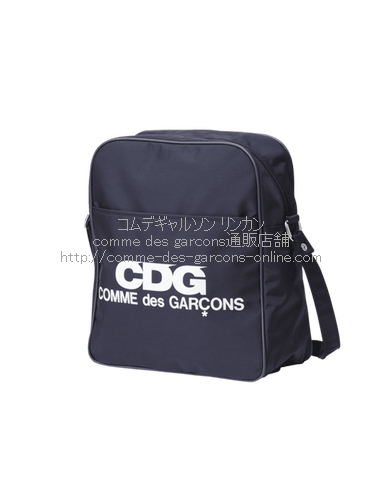 cdg-logo-shoulder-bag