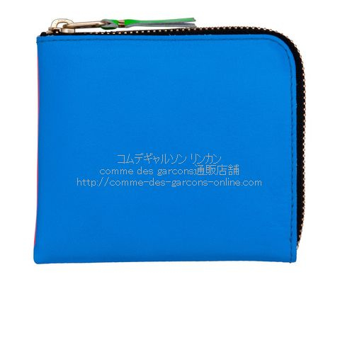 cdg-wallet-sa3100sf-superfluo-orange-blue