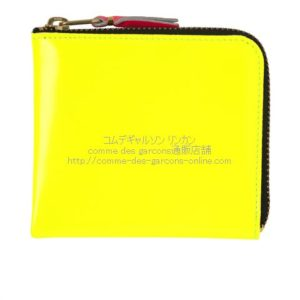 cdg-wallet-sa3100sf-superfluo-yellow-orange